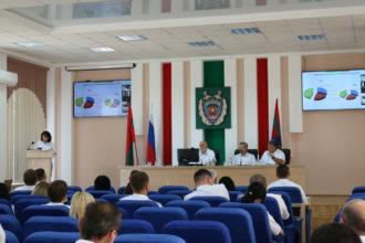 На Коллегии Прокуратуры подведены итоги работы в первом полугодии