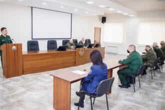 О взаимодействии Военной прокуратуры и Вооруженных сил республики
