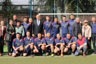 Команда органов прокуратуры приняла участие в турнире по мини-футболу